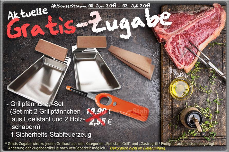 Aktuelle Grill-Gratis-Zugabe